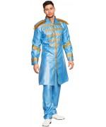Déguisement sergent pepper bleu, incarnez l'un des Beatles à l'occasion d'une soirée années 60