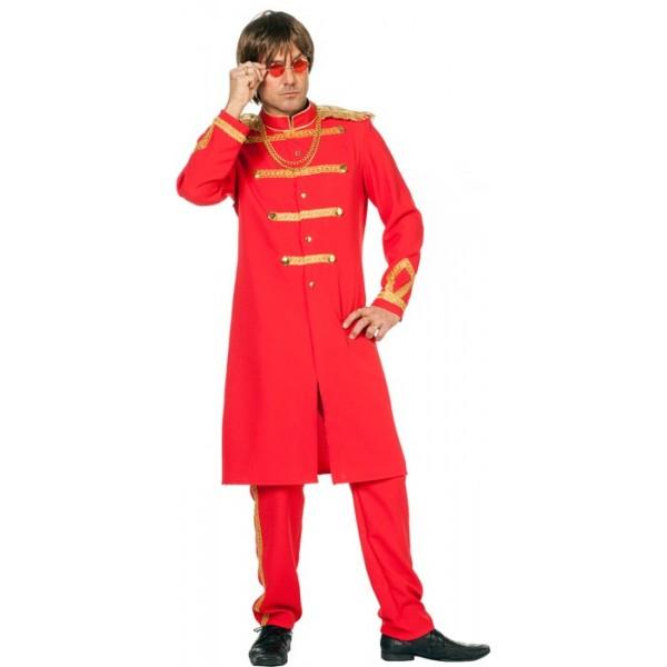 d guisement beatles rouge sergent pepper la magie du deguisement magasin de d guisements adultes. Black Bedroom Furniture Sets. Home Design Ideas