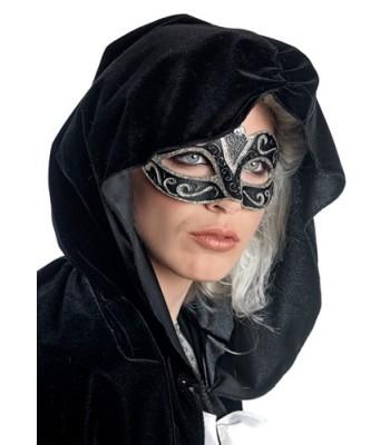 Loup v nitien noir et or la magie du d guisement masque - Masque venitien a imprimer ...