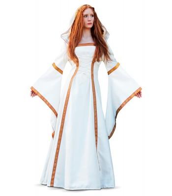 54cc0f36898 Costume médiéval femme princesse blanche - la magie du deguisement ...