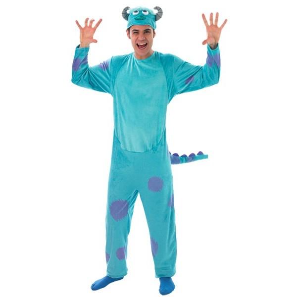 costume monstre et compagnie, Jack Sully personnage de dessin animé Disney  adulte