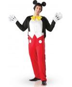 deguisement Mickey adulte, incarnez le célèbre Mickey Mouse grâce à ce costume complet