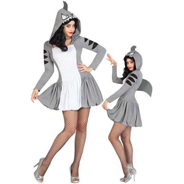 D guisement requin femme la magie du deguisement animaux enterrement vie de jeune fille - Requin rigolo ...