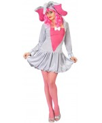 deguisement elephant femme, robe à capuche - costume animal rigolo
