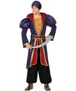 Déguisement sultan oriental adulte - costume contes des mille et une nuits