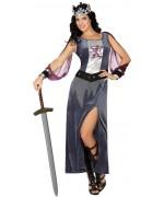 Déguisement médiéval femme chevalier du moyen-âge