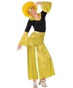 déguisement femme disco or années 80 et 70 idéal pour fêter le nouvel an déguisé
