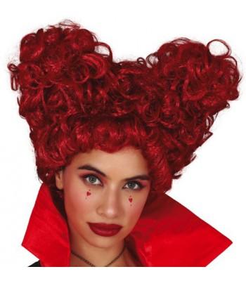 Perruque reine de cœur
