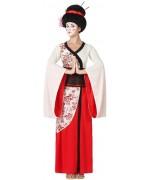 déguisement de geisha pour adulte luxe - costume japonais, pays du monde