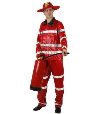 Déguisement pompier homme