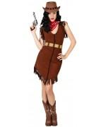 Déguisement de cowgirl pour adulte idéal pour une soirée western