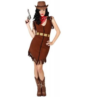 Déguisement de cowgirl adulte