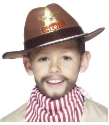 Chapeau shérrif enfant