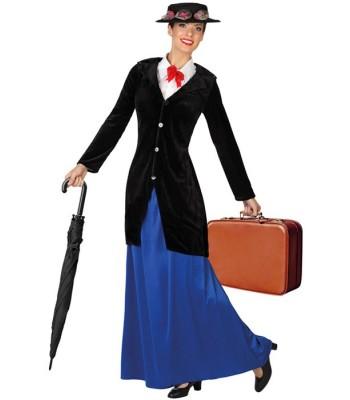 d guisement mary poppins femme nourrice la magie du deguisement achat vente de costumes adultes. Black Bedroom Furniture Sets. Home Design Ideas