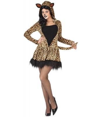 Déguisement leopard femme