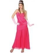 déguisement de princesse rose pour femme, incarnez la reine du bal