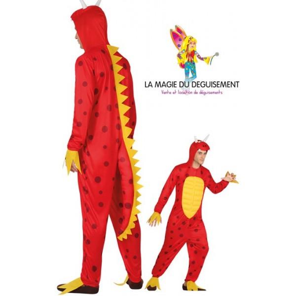 Favori Déguisement de dragon rouge homme - la magie du déguisement  SU31