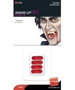 Capsules de sang (par 4) - maquillage halloween