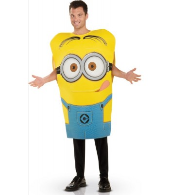 Déguisement minion Dave adulte