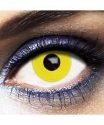 Lentilles jaunes pour adulte, offrez davantage de réalisme à vos déguisements et maquillage