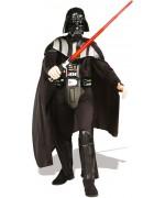 Costume Dark Vador luxe pour adulte avec col et ceinture 3D - Costumes Star Wars