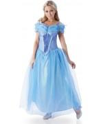 deguisement Cendrillon le film adulte, costume de princesse avec robe et peigne - costume Disney