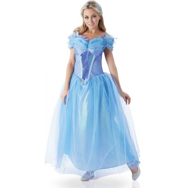 D guisement cendrillon le film adulte la magie du - Robe disney adulte ...
