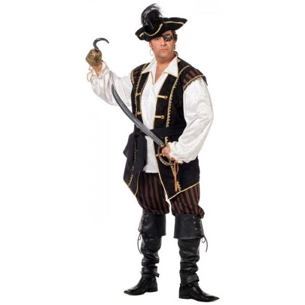 d guisement pirate homme grande taille la magie du. Black Bedroom Furniture Sets. Home Design Ideas