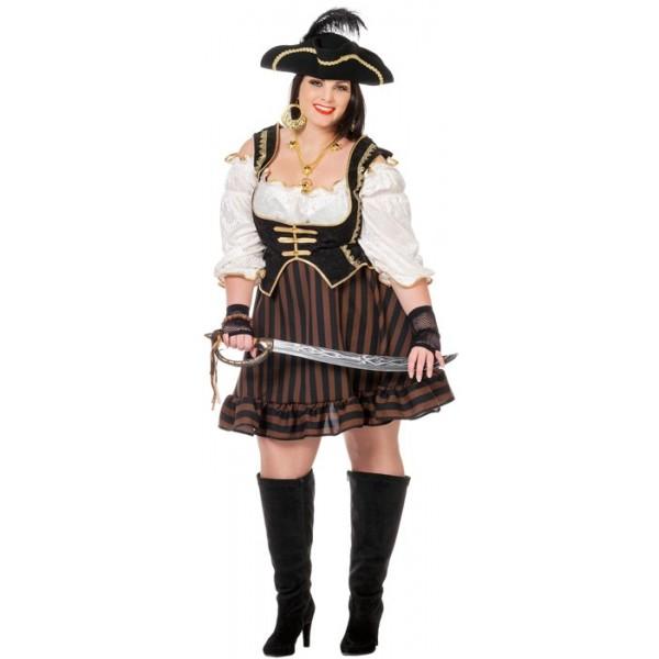 d guisement pirate femme grande taille la magie du. Black Bedroom Furniture Sets. Home Design Ideas