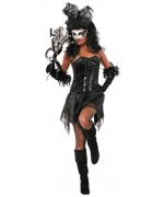 Déguisement ange noir vénitien femme - Carnaval de Venise et Halloween