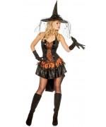 Déguisement sorcière sexy adulte - costume halloween