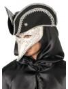 Masque vénitien homme avec chapeau - Costume baroque carnaval de Venise