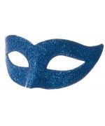 masque vénitien, loup bleu adulte