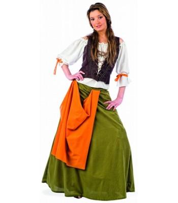 Déguisement tavernière femme médiévale