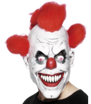 Masque clown halloween adulte