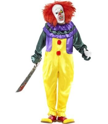 Déguisement clown maléfique halloween