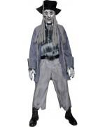 Déguisement de pirate zombie pour homme, incarnez le célèbre Davy Jones le pirate maudit