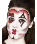 Maquillage reine de cœur femme