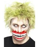 Bouche de zombie en latex, maquillage gore et zombie