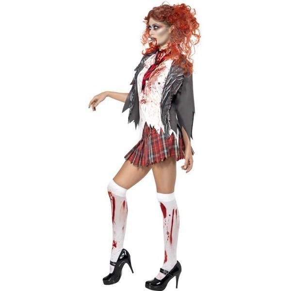 Déguisement zombie femme écolière , la magie du déguisement