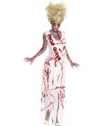 Déguisement reine de promo zombie femme - costume halloween