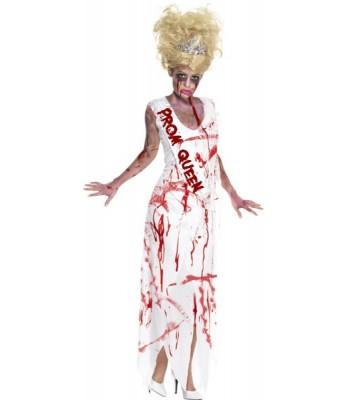 Déguisement reine de promo zombie femme