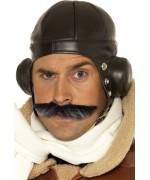 Chapeau d'aviateur rétro pour adulte