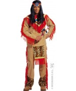 Déguisement indien sitting bull adulte