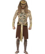 Déguisement pharaon zombie adulte - costume egyptien halloween