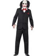 Déguisement Saw JigSaw adulte, personnage de film d'horreur - costume Halloween