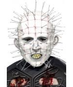 Masque Hellraiser Pinhead pour adulte, personnage de film d'horreur - Masques Halloween