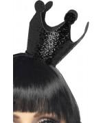 couronne de reine noire, accessoire déguisement halloween