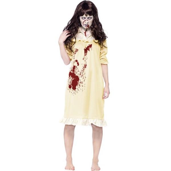 d guisement exorciste femme zombie la magie du deguisement personnage de film d 39 horreur. Black Bedroom Furniture Sets. Home Design Ideas