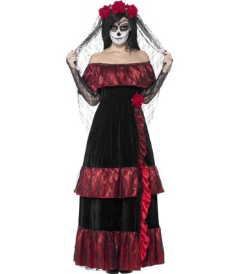 Déguisement mariée mexicaine halloween